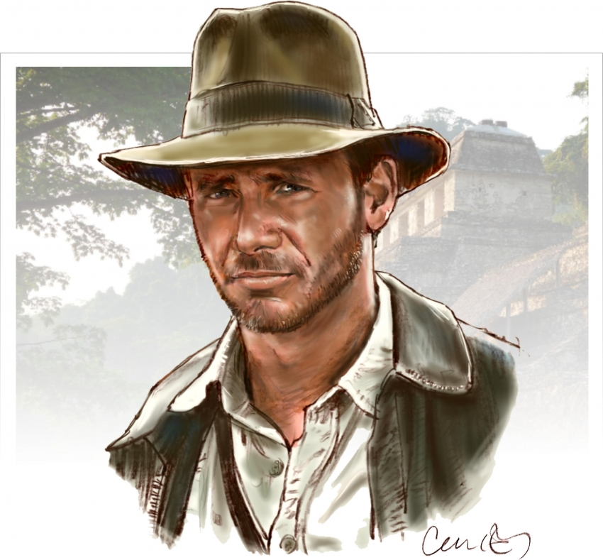 Harrison Ford by Roger_Curley